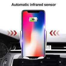 Load image into Gallery viewer, Nimmk Magic Clip Car Infrared Fast Wireless Charger