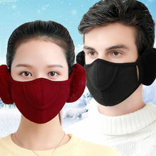 Load image into Gallery viewer, Winter Warmer Ear Mouth Mask