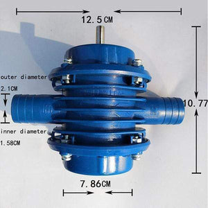 Miniature self-priming pump