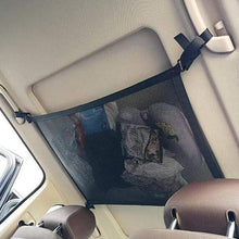 Load image into Gallery viewer, Car Roof Handle Storage Net
