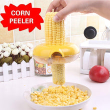 Load image into Gallery viewer, Corn Peeler with Circular Stainless Steel Blade Strips