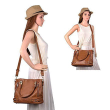 Load image into Gallery viewer, Genuine Leather Handbags Luxury Women Messenger Bags