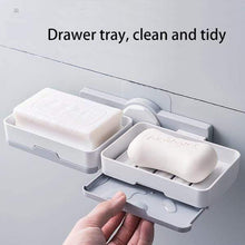 Load image into Gallery viewer, Double Layer Draining Soap Holder