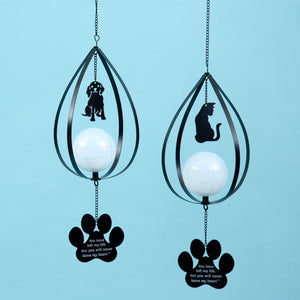 Pets Never Leave My Heart Solar Light