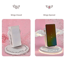 Load image into Gallery viewer, Spreadable Angel Wings Wireless Charger