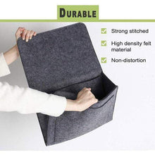 Load image into Gallery viewer, Sofa Bedside Felt Storage Bag