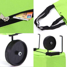 Load image into Gallery viewer, 2 In 1 Foldable Shopping Cart