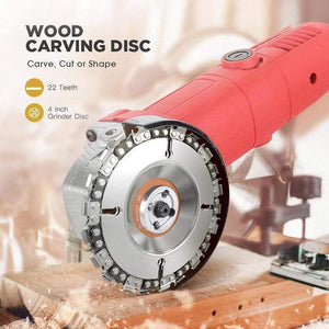 (50% OFF+3-year warranty)Grinder Wood Carving Chain Disc