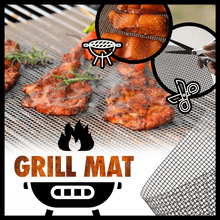 Load image into Gallery viewer, Non Stick Barbeque Grill Mat