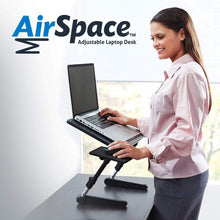 Load image into Gallery viewer, AirSpace Adjustable Laptop Desk