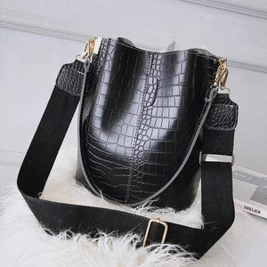 Crocodile Bucket Bag