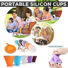 Load image into Gallery viewer, Portable Folding Silicone Cup