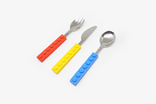 Load image into Gallery viewer, Brick Shape Stackable Cutlery Set