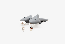 Load image into Gallery viewer, Jaws Shark Earrings