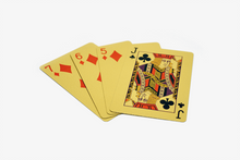 Load image into Gallery viewer, Premium 24K Gold Foil Playing Cards