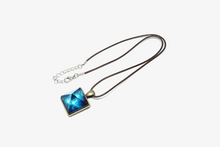 Load image into Gallery viewer, Glowing Pyramid Crystal Necklace