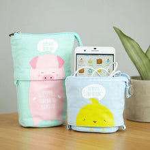 Load image into Gallery viewer, Cute Animal Stand-Up Pencil Case: 8 designs