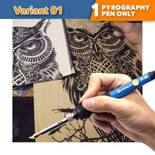 Load image into Gallery viewer, Wood Burning Pyrography Kit