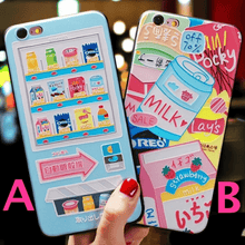 Load image into Gallery viewer, Kawaii Snacks iPhone Case