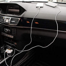Load image into Gallery viewer, Two-In-One Retractable Car Charger