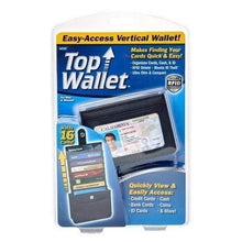 Load image into Gallery viewer, AMAZING EASY ACCESS VERTICAL WALLET WITH RFID BLOCKING