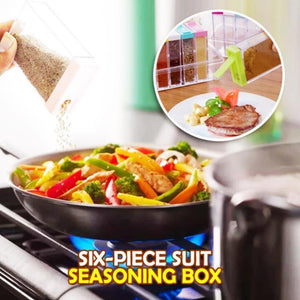 Six-Piece Suit Seasoning Box