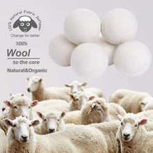 Load image into Gallery viewer, 6pcs Wool Dryer Balls