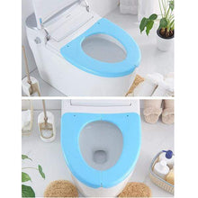 Load image into Gallery viewer, Folding Plastic Toilet Seat