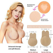 Load image into Gallery viewer, Self-adhesive Silicone Bra Breast Lift Belt