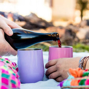 Portable Insulated Wine Cup