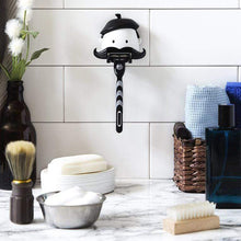 Load image into Gallery viewer, Mr. Mustache Razor Holder