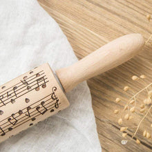 Load image into Gallery viewer, Musical Notes 3D Rolling Pin