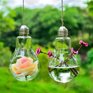Modern Light Bulb Planter