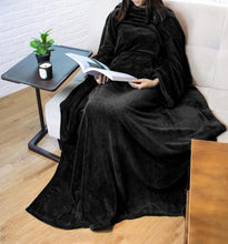 Load image into Gallery viewer, Full Body Snuggle Blanket With Sleeves