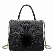 Load image into Gallery viewer, Woman's Crocodile Shoulder Bag