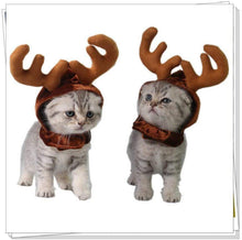 Load image into Gallery viewer, 50% off cat Reindeer ears