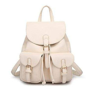 Femina Leather Backpack: 6 colors
