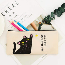Load image into Gallery viewer, Cute Japanese Cat Pencil Case
