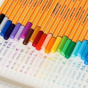 Set of 25 STABILO Point 88 Fineliners