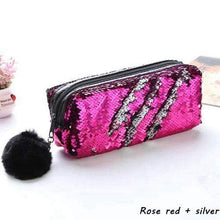 Load image into Gallery viewer, Sparkly Sequin Pencil Case: 7 styles!