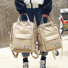 Load image into Gallery viewer, Harajuku Canvas Backpack: 4 colors