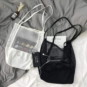 Korean Mesh Tote Bag
