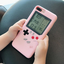 Load image into Gallery viewer, Gameboy iPhone Case: 10 games included!