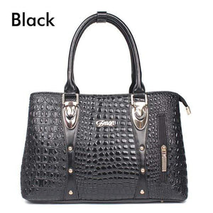 2019 Fashion Luxury Crocodile Leather Tote Bags