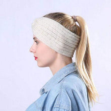 Load image into Gallery viewer, Ear Warmer Knitted Headband