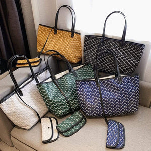 Fashion Shopping PU Tote Bag