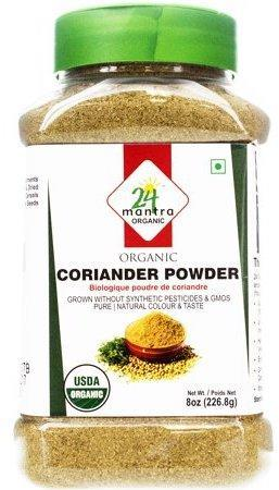 24 Mantra Organic Coriander Powder 8oz