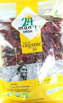 24 Mantra Organic Dried Red Stick Whole Chili