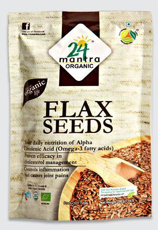 24 Mantra Organic Flax Seeds 200gm