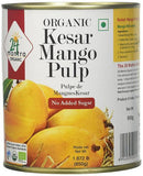24 Mantra Organic Kesar Mango Pulp (No Added Sugar)